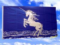 Fahne Flagge EINHORN 150 x 90 cm