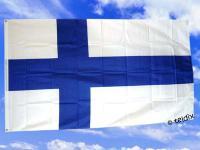 Fahne Flagge FINNLAND 150 x 90 cm
