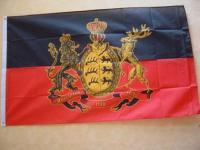 Fahne Flagge FURCHTLOS UND TREU 150 x 90 cm