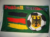 Fahne Flagge GERMANY FUSSBALL 150 x 90 cm
