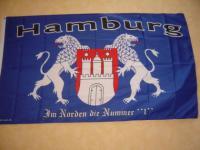 Fahne Flagge HAMBURG NR. 1 150 x 90 cm