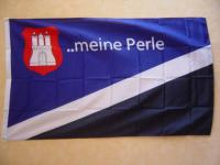 Fahne Flagge HAMBURG MEINE PERLE 150 x 90 cm