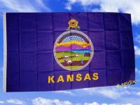 Fahne Flagge KANSAS 150 x 90 cm