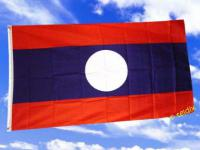 Fahne Flagge LAOS NEU 150 x 90 cm