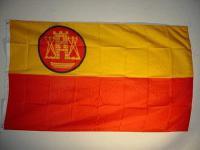 Fahne Flagge MEMEL 1920 - 1939 / 150 x 90 cm