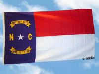 Fahne Flagge NORTH CAROLINA 150 x 90 cm