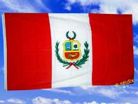 Fahne Flagge PERU 150 x 90 cm