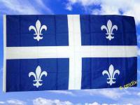 Fahne Flagge QUEBEC 150 x 90 cm