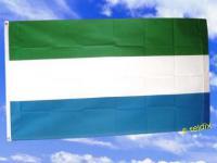 Fahne Flagge SIERRA LEONE 150 x 90 cm