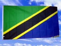Fahne Flagge TANSANIA 150 x 90 cm