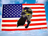 Fahne Flagge USA BATMAN 150 x 90 cm