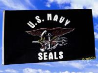 Fahne Flagge US NAVY SEALS 150 x 90 cm