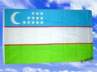 Fahne Flagge USBEKISTAN 150 x 90 cm