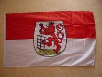 Fahne Flagge WUPPERTAL 150 x 90 cm
