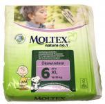 27 St. Gr.6 XL XLarge MOLTEX Nature No1 Ökowindeln Babywindeln Gr 6 = 16-30kg Windeln