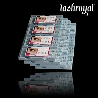 Lashroyal Nachkaufbox Singles & Flares für 70 - 90 Kunden