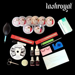 Lashroyal Starterkit Synthetik PureLashes (lose Wimpern)