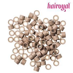 Hairoyal® Silikon-Microrings - 100 Stück - light blonde