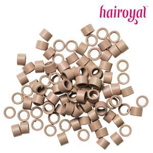 Microrings mit Gewinde - 100 Stück - #light blonde