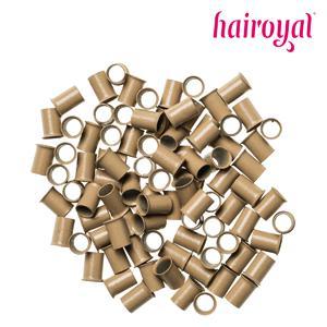 Hairoyal® Eurolocks/Long Microrings - 100 Stück - dark blonde