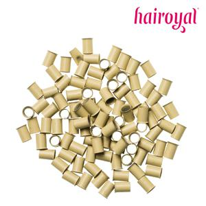 Hairoyal® Eurolocks/Long Microrings - 100 Stück - blonde