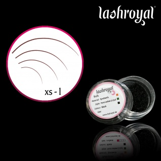 Lashroyal Synthetik PureLashes C-CURL -Biegung!