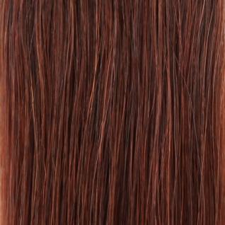 she by SO.CAP. Tresse gewellt #33- light mahagony chestnut