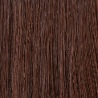 Hairoyal® Extensions glatt #4- Mittel-Dunkelbraun
