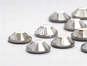 Swarovski® Wimpernkristalle #Crystal Silver Shade