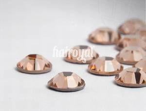 CRYSTALLIZED Swarovski® Wimpernkristalle #Light Peach