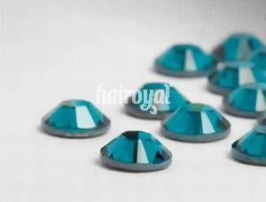 CRYSTALLIZED Swarovski® Wimpernkristalle #Blue Zircon