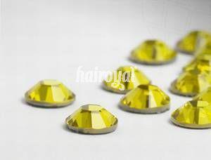 Swarovski® Wimpernkristalle #Light Topaz
