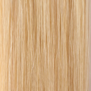 she by SO.CAP. Extensions 35/40 cm gewellt #1001- platinum blonde