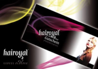 Gutschein in edler Hochglanzoptik für den Einkauf bei Hairoya - Vorschau 2