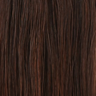 she by SO.CAP. Extensions 35/40 cm gewellt #4- chestnut