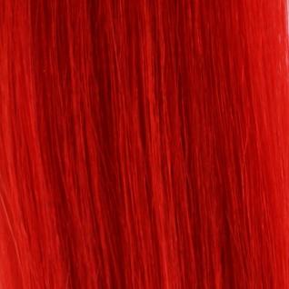 Hairoyal® Skinny's - Tape Extensions Fantasy glatt #Red