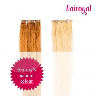 Hairoyal® Skinny's - Tape Extensions #2- Dunkelstes Braun - Vorschau 2