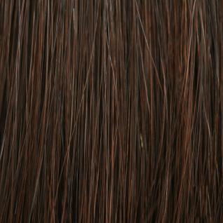 Hairoyal® SkinWefts Haarlänge 55/60 cm glatt #4- Mittel-Dunkelbraun - Vorschau