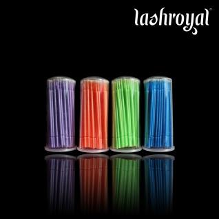 Lashroyal Microbürstchen zum Entfernen - 100 Stück im Vorratspack