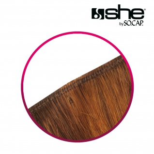 she by SO.CAP. Tresse glatt #17- medium blonde - Vorschau 3