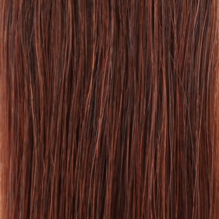 she by SO.CAP. Extensions 35/40 cm gewellt #33- light mahagony chestnut