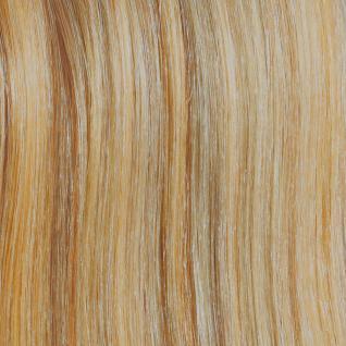 HAIROYAL® Extensions gewellt #140- bicolour - Natur-Hellblond/Goldblond gesträhnt - Vorschau