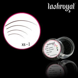 Lashroyal Synthetik PureLashes J-Curl (lose Einzelwimpern)