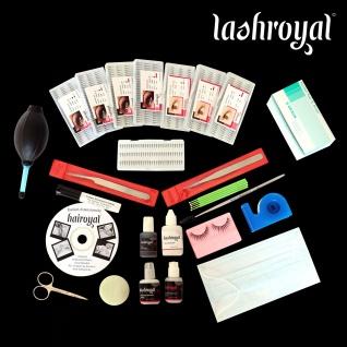 Lashroyal Starterset Singles & Flares für 70 - 90 Kunden