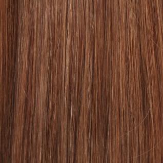Hairoyal® Clip-On-Tressen-Set - glatt #10- Dunkelaschblond
