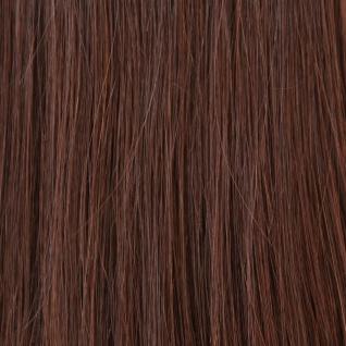 Hairoyal® Microring-Extensions glatt #4- Mittel-Dunkelbraun