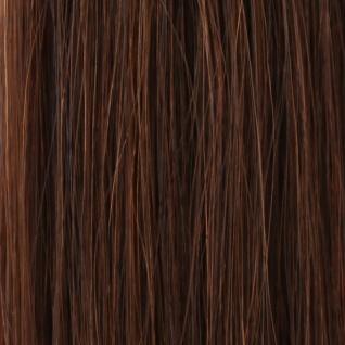 she by SO.CAP. Extensions 50/60 cm gelockt #6- light chestnut - Vorschau 1
