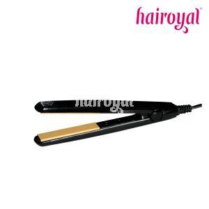 Hairoyal® Ceramics Glätteisen - MINI - glossy black