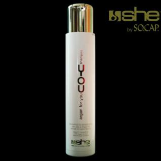 she by SO.CAP. Arganöl-Shampoo
