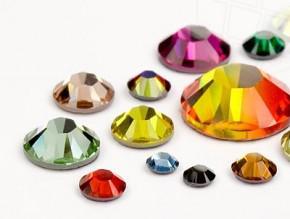 Swarovski® Wimpernkristalle #Colour Mix - 200 Stück